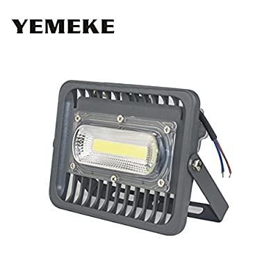 LED Floodlight 50W, Cold White : AC85-265V LED Flood Light 50W 100W 150W Led Floodlight Spotlight Reflector LED Waterproof Outdoor Garden Projectors garage light