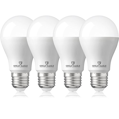- Great Eagle 40/60/100W Equivalent 3-Way A21 LED Light Bulb 3000K Bright White Color (4-Pack)