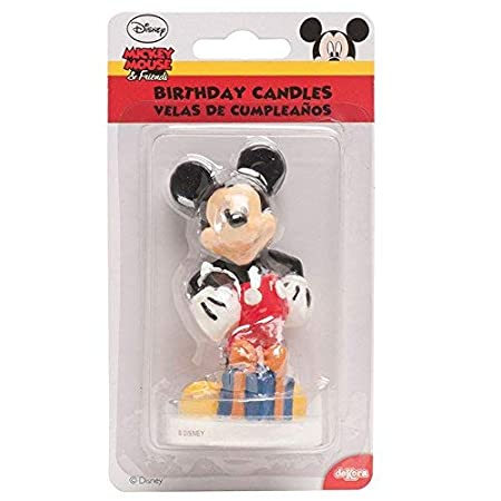 Amazon.com: Mickey Mouse Candle: Kitchen & Dining