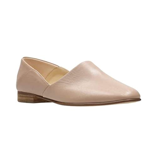 meet world-wide renown purchase original CLARKS Womens Pure Tone Loafer, Nude Leather, Size 9.5 ...