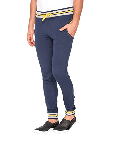 Campus Sutra Track Pant Blue