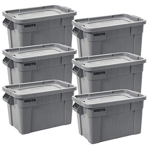 Rubbermaid Commercial Products BRUTE Tote Storage