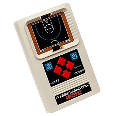 Mattel Classic Basketball Game: Toys & Games