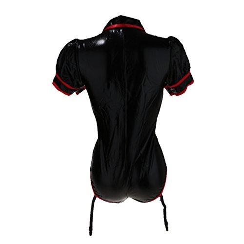 Combinaison Combinaison Femme Fishnet Homyl Bodysuit Sous de nuit Lingerie Lingerie Ouvert Vtements vtement Fesse TcYnFnZ