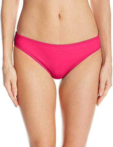 Bottoms Berry - La Blanca Women's Island Goddess Solid Hipster Bikini Swimsuit Bottom, Berry, 8