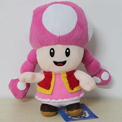 Super Mario Toadette 10 Stuffed Animals Plush Toy Baby Dolls by Unknown: Toys & Games
