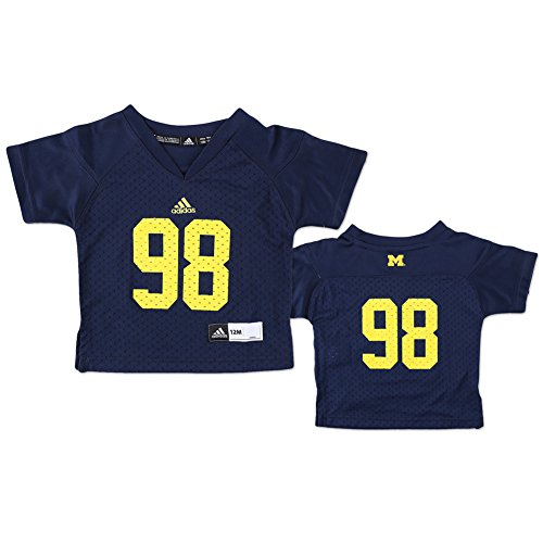 Michigan Wolverines Football Jersey #98 Navy - 18 Months - navy blue