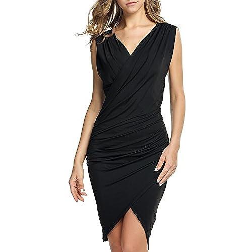 Women S Black Semi Formal Dresses Amazon Com