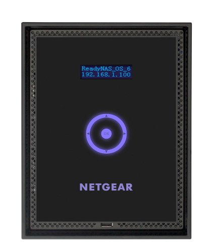 NETGEAR RN51662E-100EUS ReadyNAS 516 Enterprise NAS-System 12TB (8,9 cm (3,5 Zoll), Intel Core i3 2100, 3,1GHz, 4GB RAM, 6-Bay, SATA II, HDMI, 2x USB 3.0)
