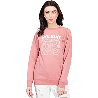 KOTTY Women's Printed Full Sleeve Sweatshirt