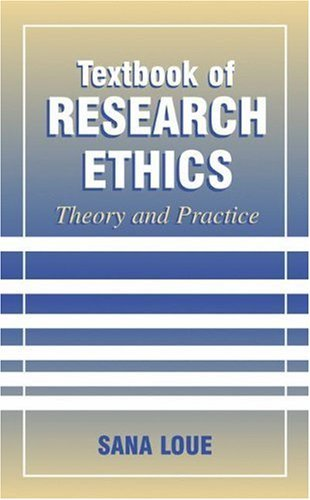 Textbook of Research Ethics: Theory and Practice Pdf