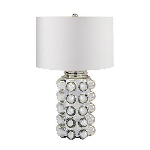 Dimond Lighting Glass Bubble Table Lamp, Antique Mercury