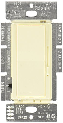600-Watt Brief Fluorescent/LED Dimmer Switch