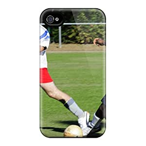 Sanp On Cases Covers Protector For Iphone 6 (farragut Sailor Steals The Ball From A La Rochelle City Employee Team Player Duri)