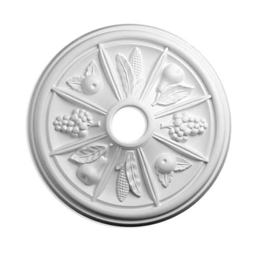 - Focal Point 24 Inch Diameter Ceiling Medallion 82224 Kaitlyn Mini Primed White Polyurethane