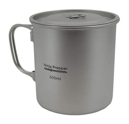 Furi Titanium Mug with Lid (500ml) ()