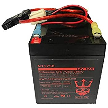 Amazon Com Razor E100 E125 E150 Electric Scooter Battery