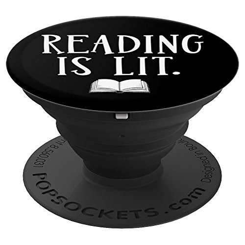 Funny Reading Is Lit English Book Literacy - PopSockets for sale  Delivered anywhere in USA