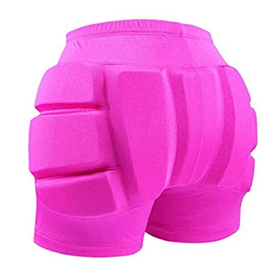 LIUHUO Hip Pad Protector Padded Shorts for Guard Ski Roller Skating Snow Crash Butt Pads for Hips Tailbone & Butt : Clothing