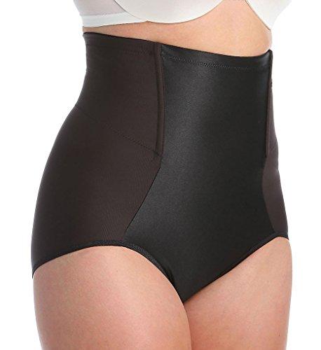Va Bien Women's Plus Size Va Bien High Waist Shaping Brief (Black,3Xl)