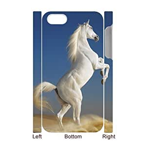 3D Bumper Plastic Case Of Horse customized case For Iphone 4/4s by icecream design