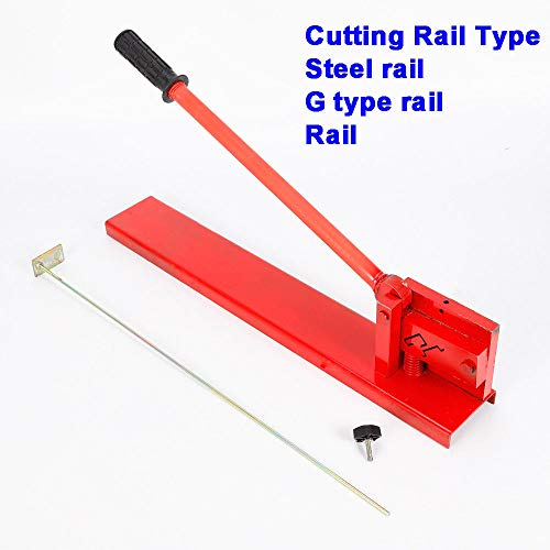 Professional Guide Din Rail Cutter Machine Manual Double Groove Cutting Tools Suitable Type for Rail, Steel Rail, G Type Rail Not Suitable for Aluminum Alloy - 2018 News (US Stock) by GDAE10 (Image #1)