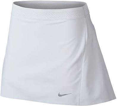 Nike 884883 Falda, Mujer, Blanco (Blanco 100), Medium (Tamaño ...