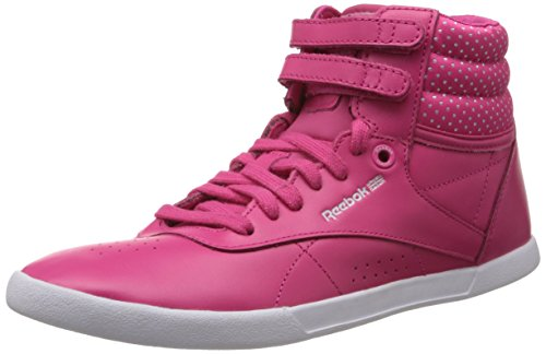 White Rose Hi femme Reebok Dots Pink Mini Baskets mode F S Fusion SwnHqPC