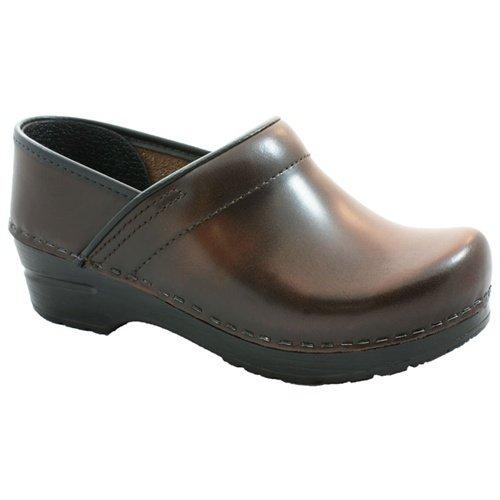 Sanita Cabrio Brown in Brush-Off Leather