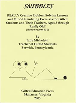 Amazon.com: Snibbles: REALLY Creative Problem Solving Lessons and ...