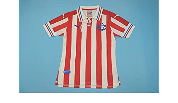 promo code bd83b 334a8 Amazon.com : Retro Chivas 110 Años Jersey : Sports & Outdoors