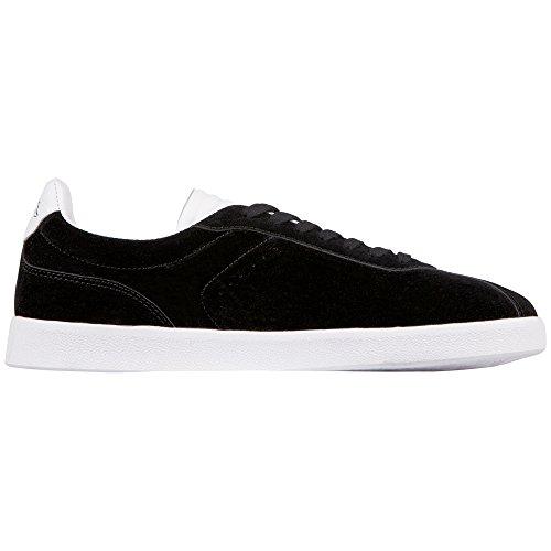1110 Black Schwarz White Sneaker Unisex Legend Kappa Erwachsene T6Bqg
