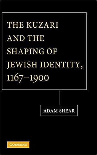 Book The Kuzari and the Shaping of Jewish Identity, 1167-1900