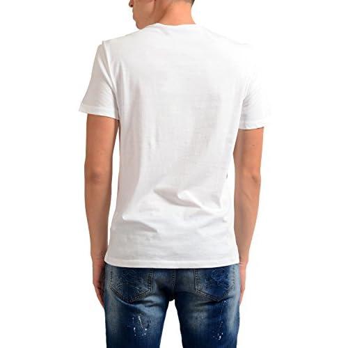 5af47e26f Versace Jeans Men's White Crewneck Short Sleeve T-Shirt ...