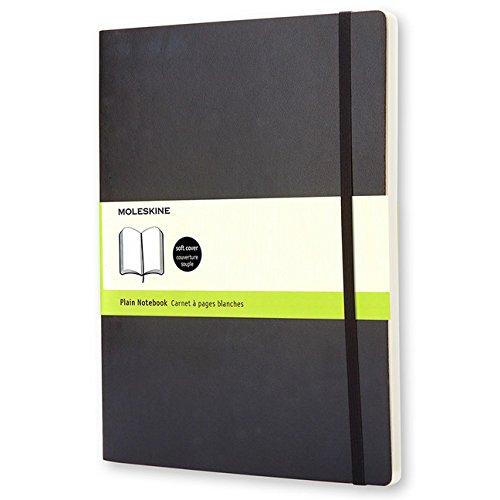 Moleskine Klassisches Notizbuch Extra Large, Softcover, blanko, schwarz