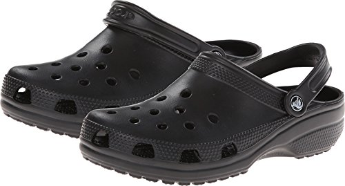 Great Outdoors Collection (crocs Unisex Classic Clog, Black, 13 US Men / 15 US Women)