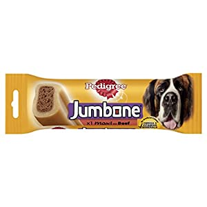 Pedigree Jumbone Large Beef Chew 210g Click on image for further info.