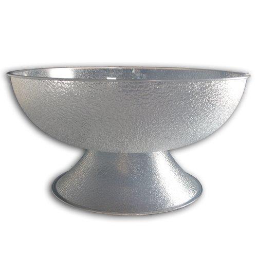 Pebbled Pedestal - Cambro PPB18 - Camwear Pedestal Punch Bowl, Pebbled, 18 in Dia., 20.2 Qt., Polycarbonate