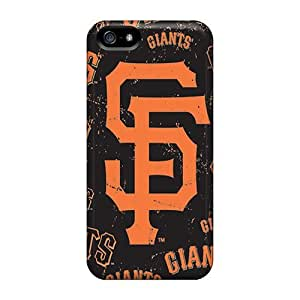 Slim Fit Tpu Protector Shock Absorbent Bumper San Francisco Giants Case For Iphone 5/5s