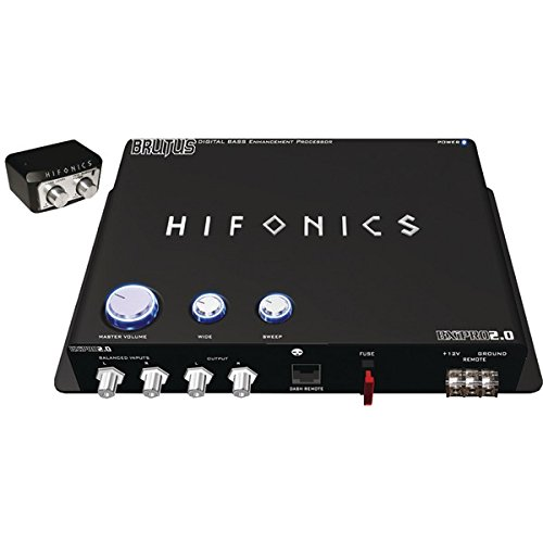Hifonics BXIPRO 2.0 BXiPro 2.0 Digital Bass Enhancement P...