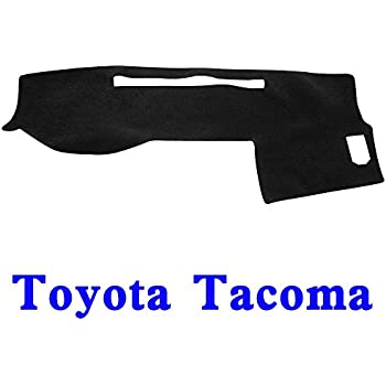 Black-Blue JIAKANUO Auto Car Dashboard Dash Board Cover Mat Fit for Toyota Camry 2007-2011 MR027