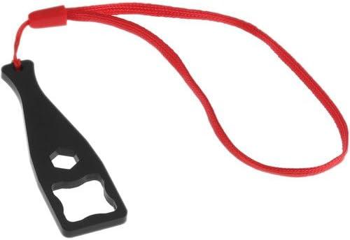 Revo Plastic Wrench for GoPro Thumbscrews Black 2 Pack