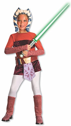 Rubie's Star Wars Clone Wars Child's Ahsoka Tano Costume, Medium]()