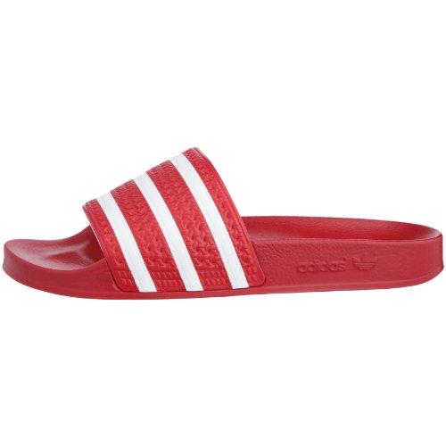 Mixte Adilette Adulte 280647 Blanc Sandales Adidas Originals Rouge 5I7wqOX