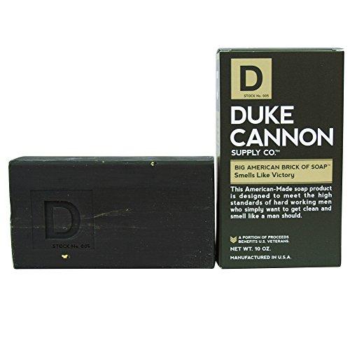 Duke Cannon Men's Body Soap - 10oz. Big American Brick Of Soap By Duke Cannon - Smells Like Victory - Early American Soap