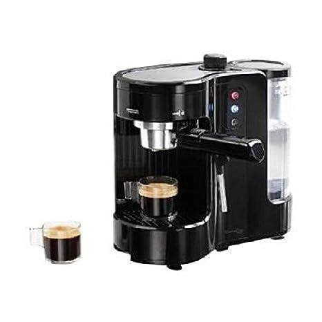 Domoclip DOD130 Independiente Semi-automática Máquina espresso 1L 1tazas Negro - Cafetera (Independiente,