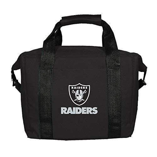 Kolder 12 Pack Cooler Bag - NFL Oakland Raiders Soft Sided 12-Pack