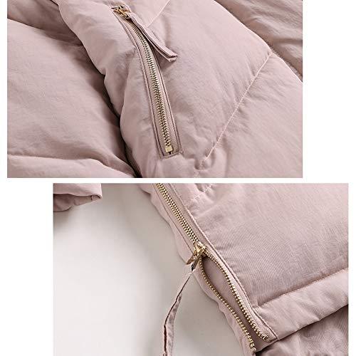 Per hod Ideale White Sport Soprabito Da Filling Donna Caldo Design Piumino Invernali Yz Pink Fashion Sci Duck Viaggi E Down Hooded 6UOIqPdxw