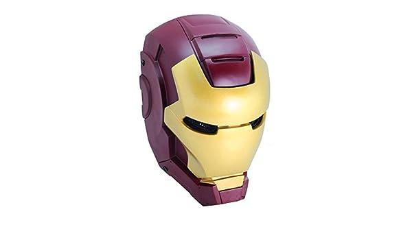 OM Iron Man Airsoft malla de alambre integral protección máscara de Paintball del más: Amazon.es: Hogar