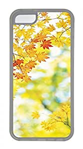 Hot for iphone 6 4.7 Case - Autumn Maple Leaf Lovely Milk Bottles Funny Lovely Best Cool Customize for iphone 6 4.7 Cover TPU Transparent